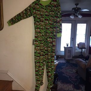 Sesame Street: Oscar the Grouch Onesie